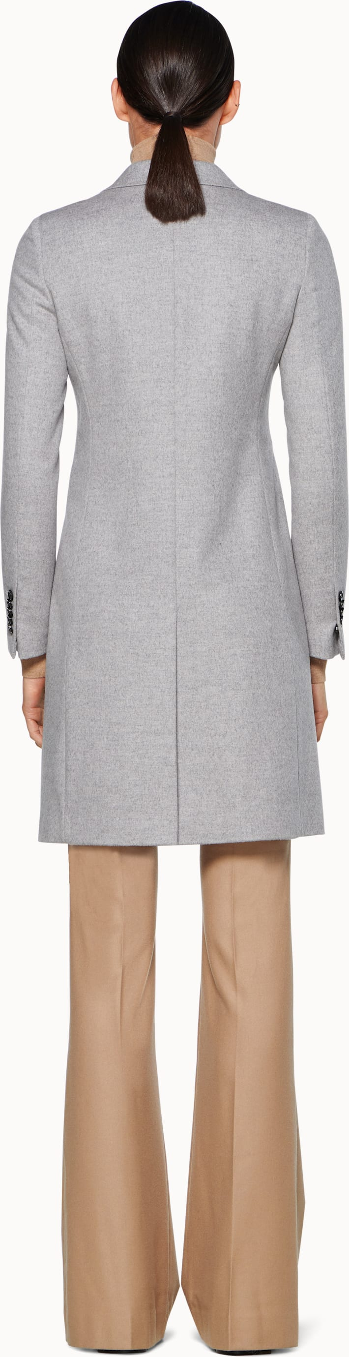 Light Grey Overcoat