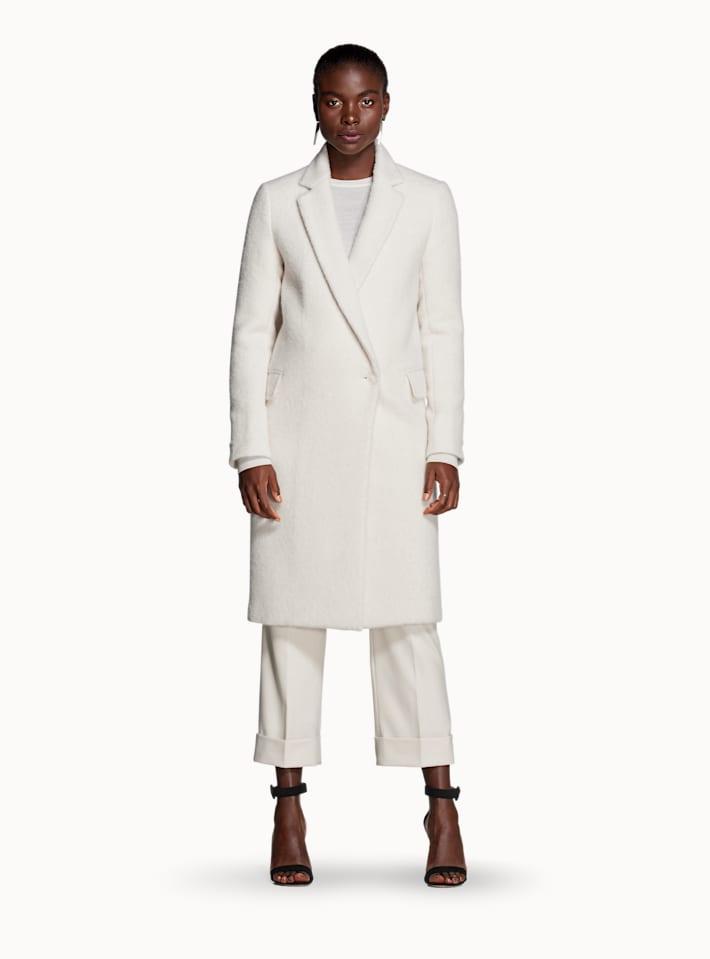 Off White Overcoat