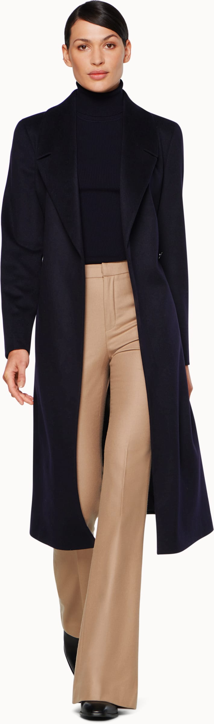 Navy Overcoat