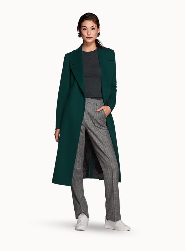 Forest Green Overcoat