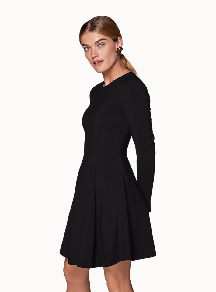 Black Plain Dress