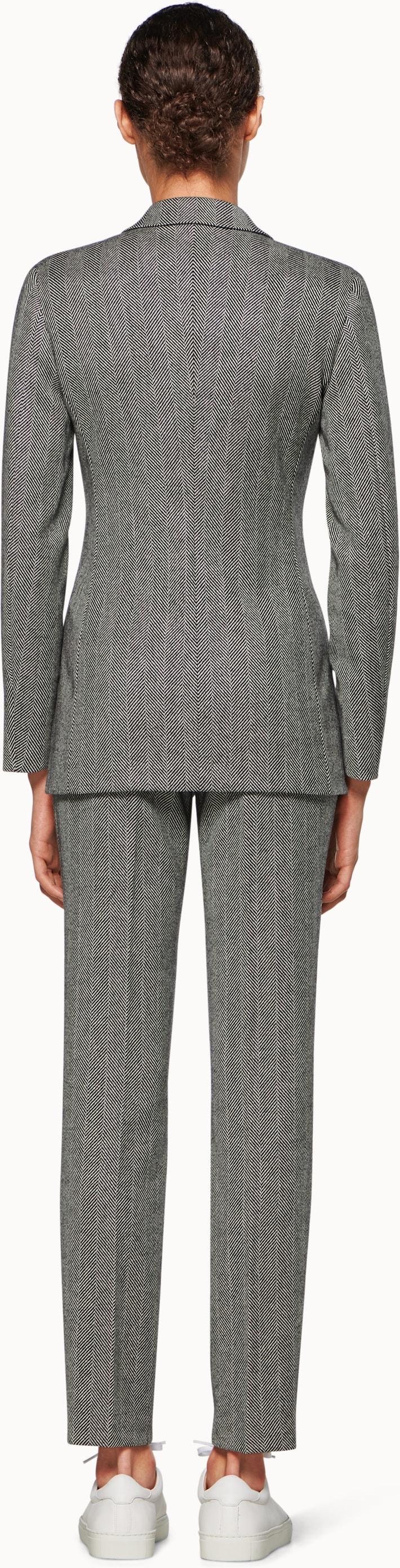 Joss Grey Herringbone Suit