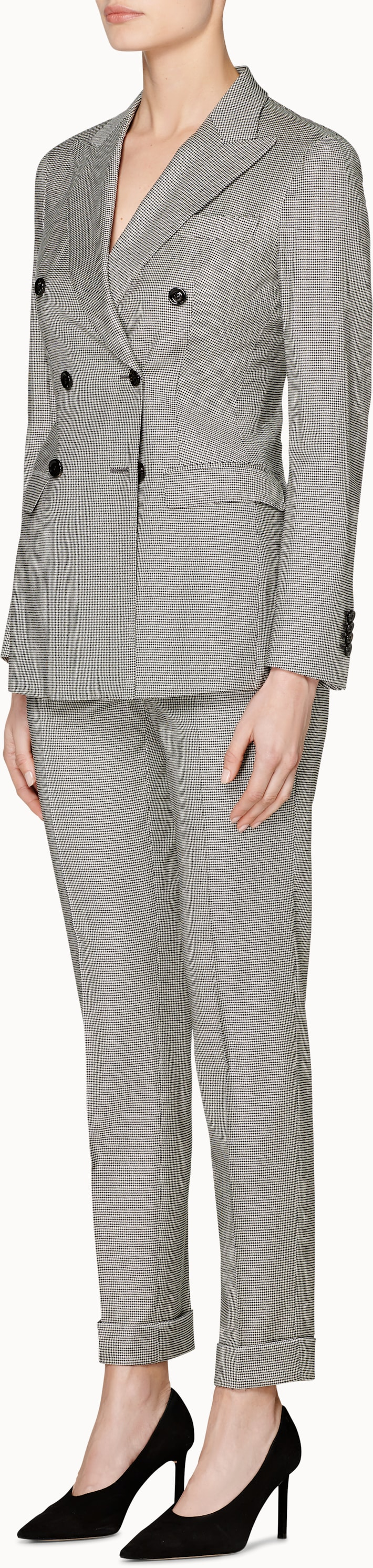 Cameron Grey Houndstooth Suit