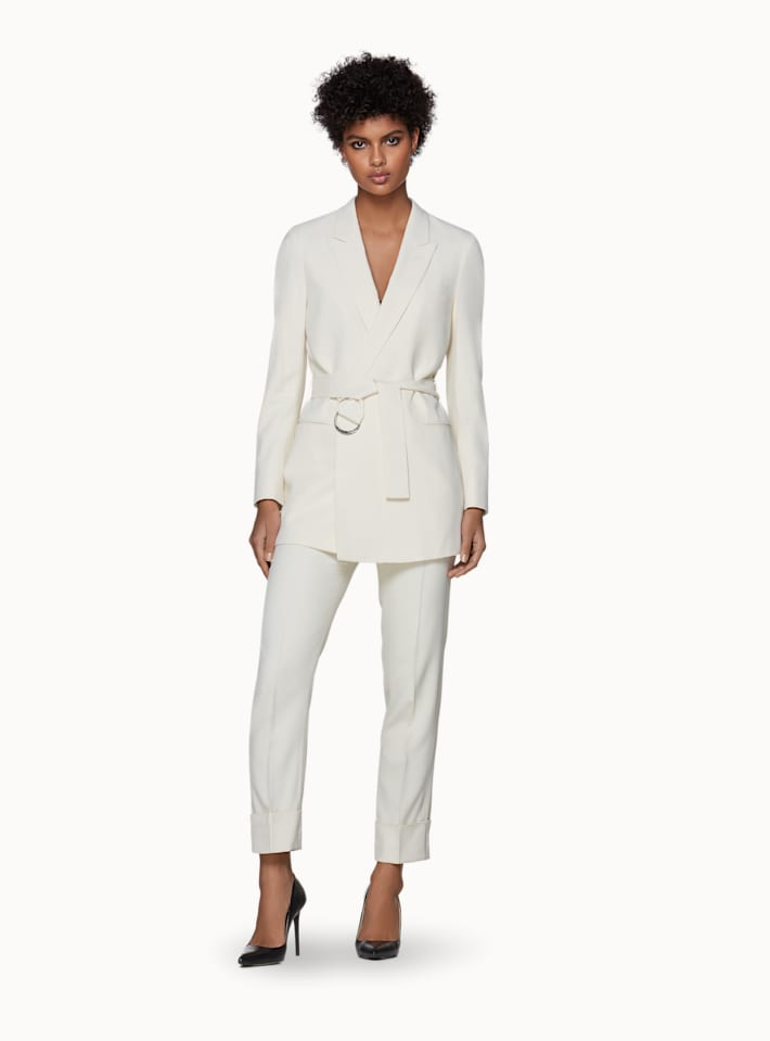 Tory Off White Suit