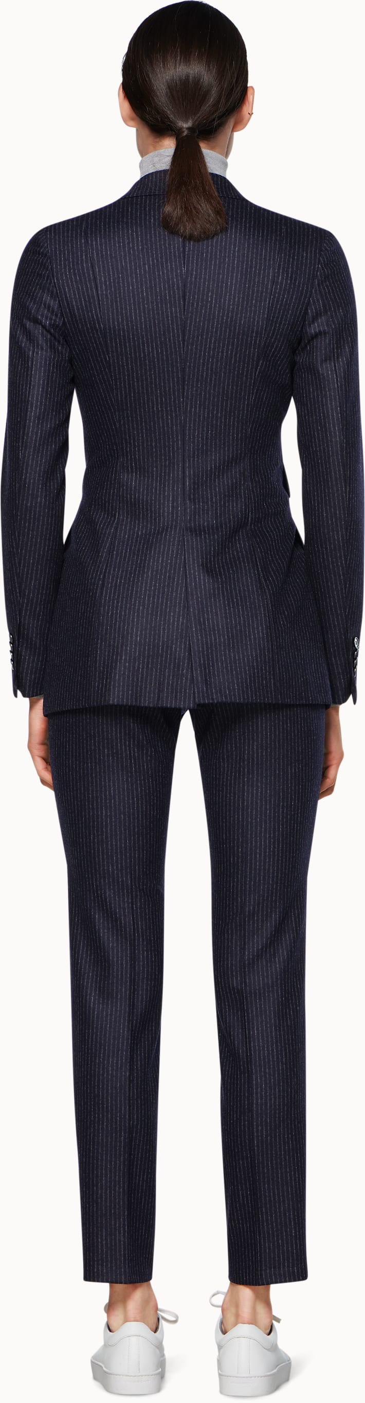 Palermo Navy Striped Suit