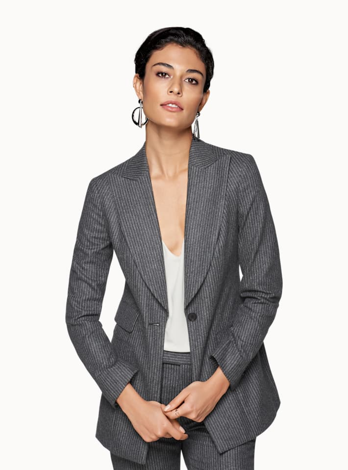 Palermo Grey Striped Suit