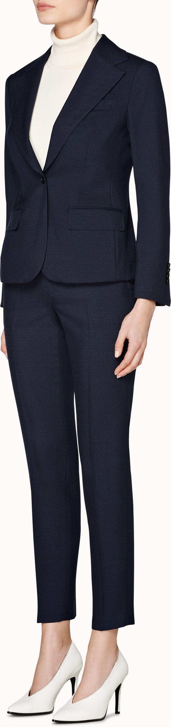 Cameron Navy Plain Suit
