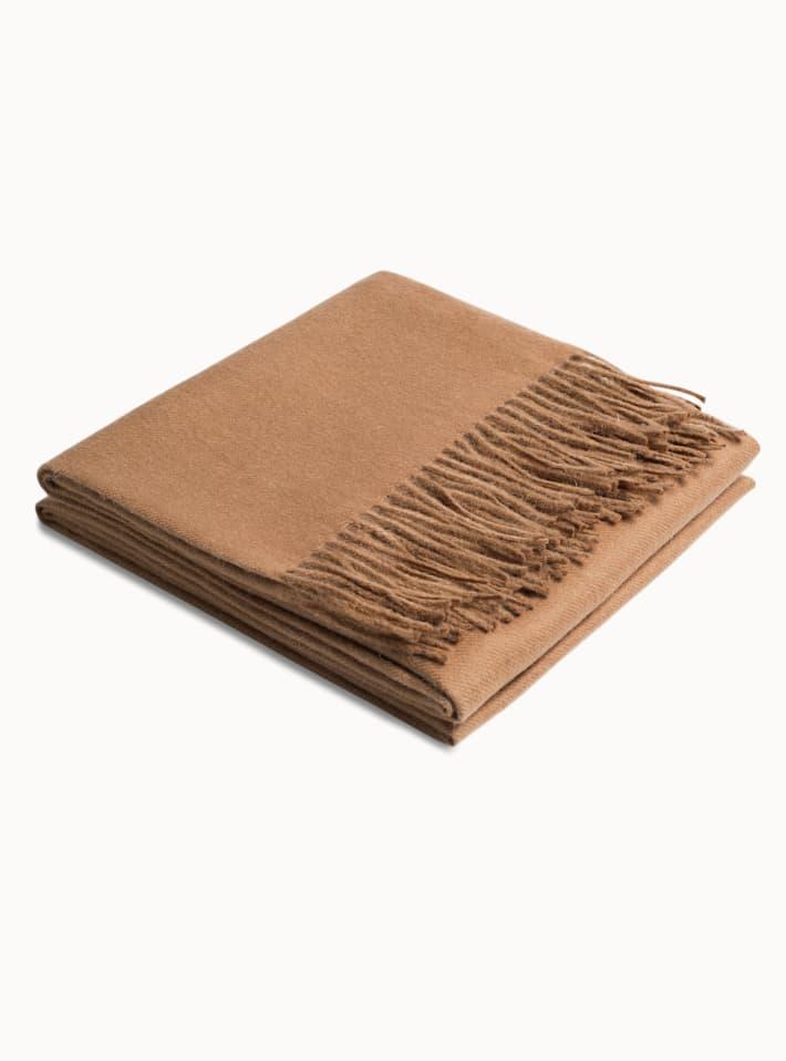 Camel Plain Scarf