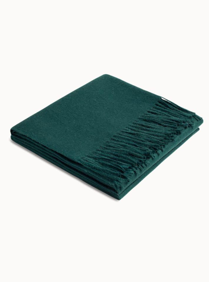 Green Plain Scarf