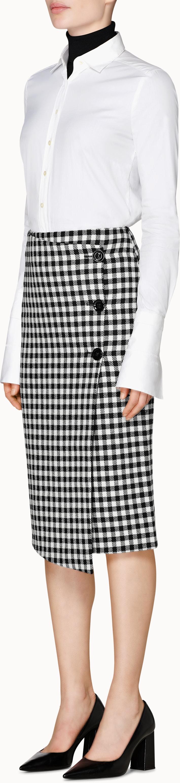 White Plain Detachable Cuff Shirt