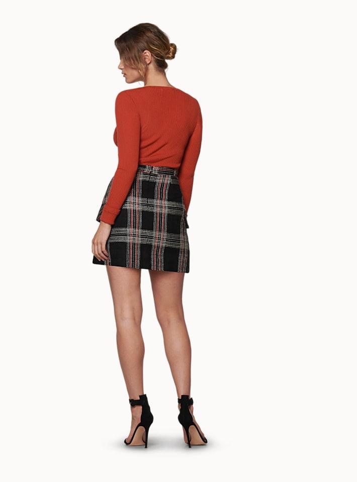 Amber Orange Skirt
