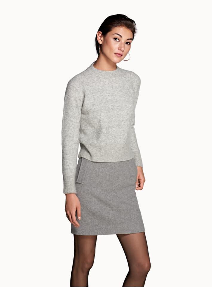 Aspen Grey Skirt