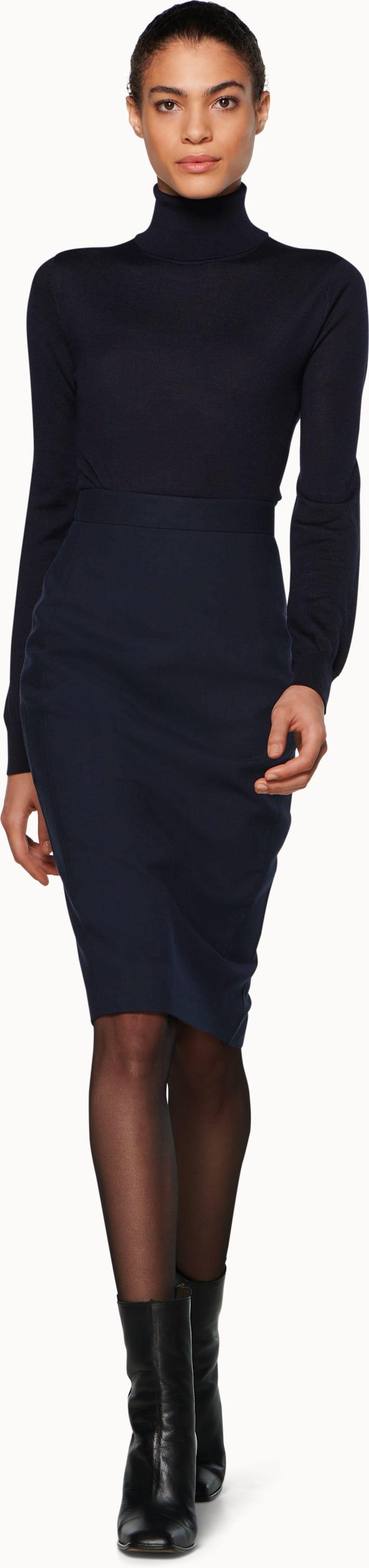 Anais Navy Skirt