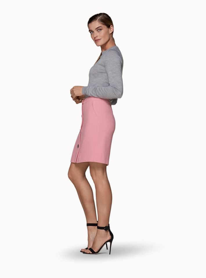 Banu Pink  Skirt