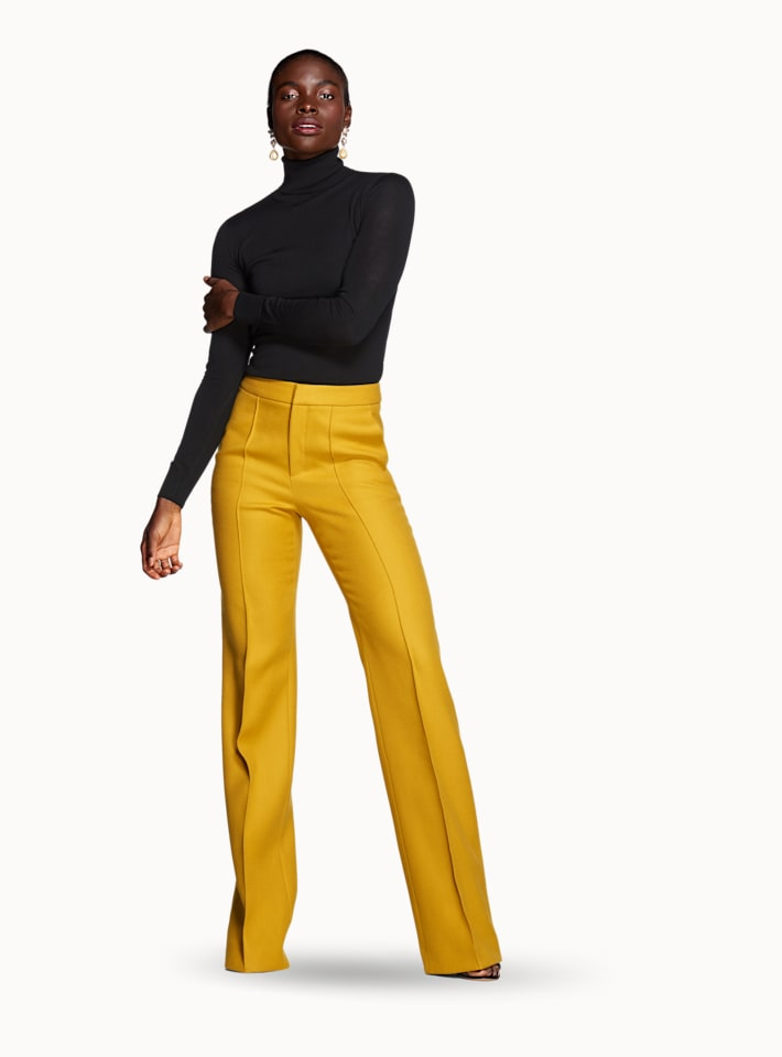 Ally Yellow  Trousers