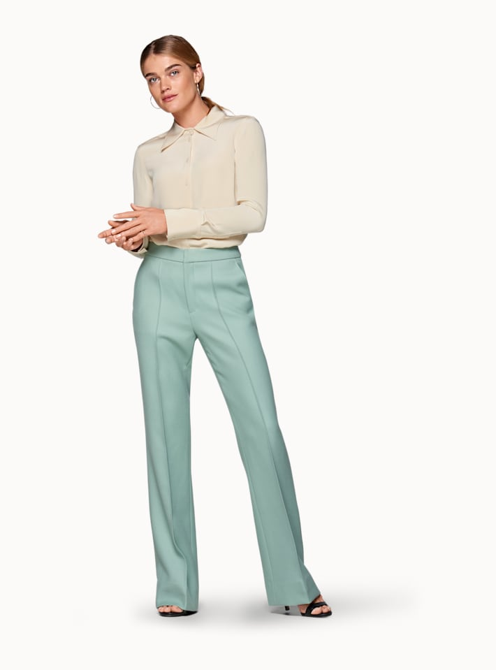 Ally Mint Green  Trousers