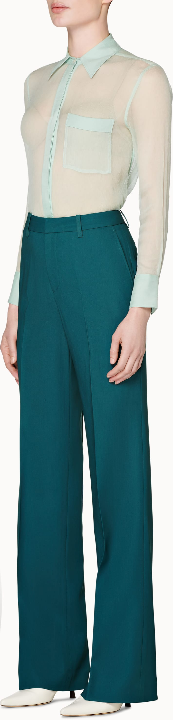 Ally Teal  Trousers